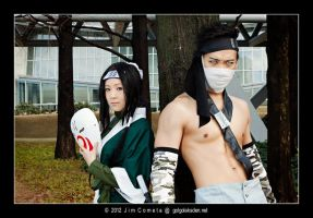 Zabuza Momochi and Haku by Lilaeroplane