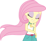 Mlp EqG 4 fluttershy (...) vector by luckreza8