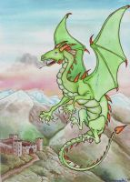 Dragon of Wales by DianaKennedy