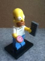 Lego Homer by ArtKing3000