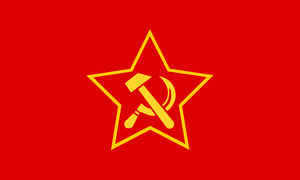 German communist party flag by ShitAllOverHumanity