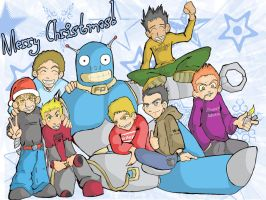 FP Boys and the amazing FP Bot by Furui-Raion
