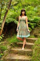 Louise - green dress 1 by wildplaces