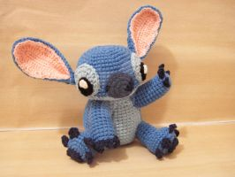 Amigurumi Stitch by SNCxCreations