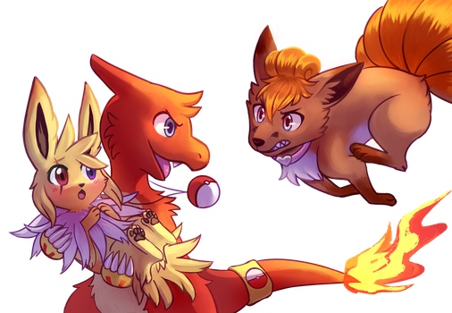 This Jolteon is Mine - Raffle Prize by Flavia-Elric