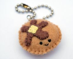 Pancake Keychain by StrawberryGlitter-14