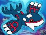 Kyogre by rainygami