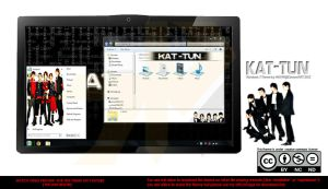 [2012 Theme] Kat-tun Windows 7 Theme by HKK98