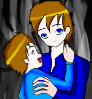 Myers And His Son by Rise-Of-Majora