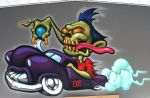 hot rod zombie by RietOne