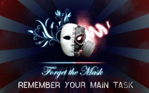Forget The Mask by KaotiKing