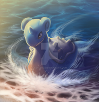 Lapras by DragginCat