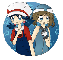 PokeSpe Crystal and Sapphire by SapphireHaneen711