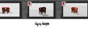 Gypsy Wagon 3D by rsiphotography