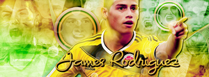 +James Rodriguez portada pedido by LupishaGreyDesigns