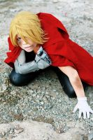 Edward Elric: Never give up by Lishrayder