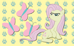 Flutterbitch wallpaper by AliceHumanSacrifice0