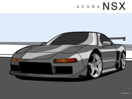 Acura NSX by is-it-icy