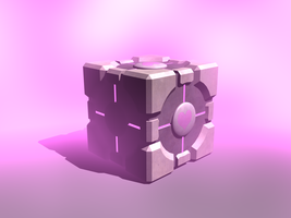 Companion Cube by portal-club