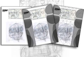 Mask Design Layout Root3 by aMorle