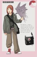 Pokemon trainer reference by WillowWhiskers