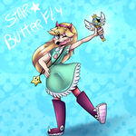 Star Butterfly by KarlaDraws14