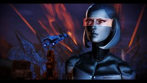 Mass Effect 3 Edi by AgataFoxxx