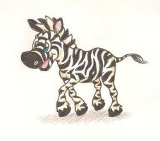 Zebra animal buddy by mattdog1000000