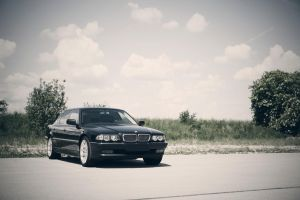 BMW E38 by increased