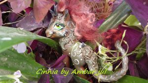 My little pony custom Cinnia Kirin by AmbarJulieta