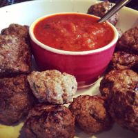 Homemade Meatballs by DistortedSmile