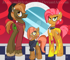 The Mash Family by MagicandMysteryGal