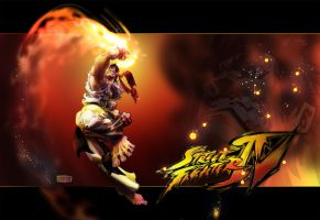 Ryu, Inner Fire by MarioPons