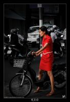 The Girl In Red. by CorporalNobbs
