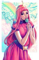 Princess Bubblegum by jennduong