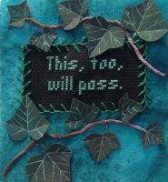 This, Too, Will Pass - Eckhart Tolle by RuthNorbury