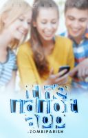 The Idiot App // Book Cover by harrytakeacat