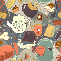 Tea Pattern by -axel-