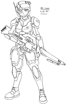 NAC Trooper - Sniper Rifle by Cashcleaner