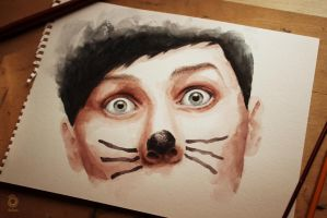 Phil and the cat whiskers by szluu