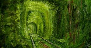Tunnel of Love - Environmental study by Programmega