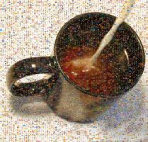 Coffee Cup Photomosaic by DolfD