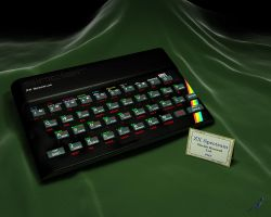 Sinclair ZX Spectrum by lcgledhill
