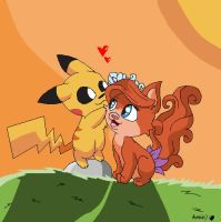 Pikachu And Treasure by lopez697