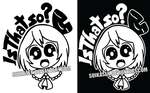 Rumia Is That So Decal Logo Design by Suikasen