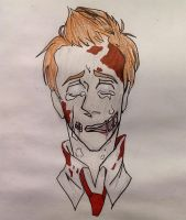 Shaun of the Dead- Can't Help But Cry by YouJustGotAnimated