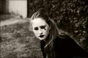 Sad Clown II by Michaella-Designs