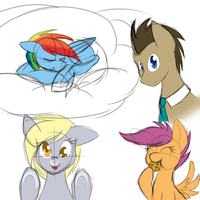 more doodles by Silverfox057