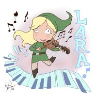 Lara Plays Video Game Music by MichaelMayne
