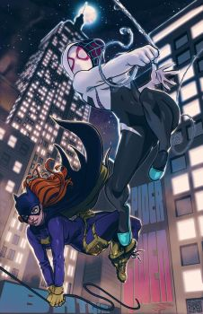 SpiderGwen/BatGirl: The CrossOver by FooRay